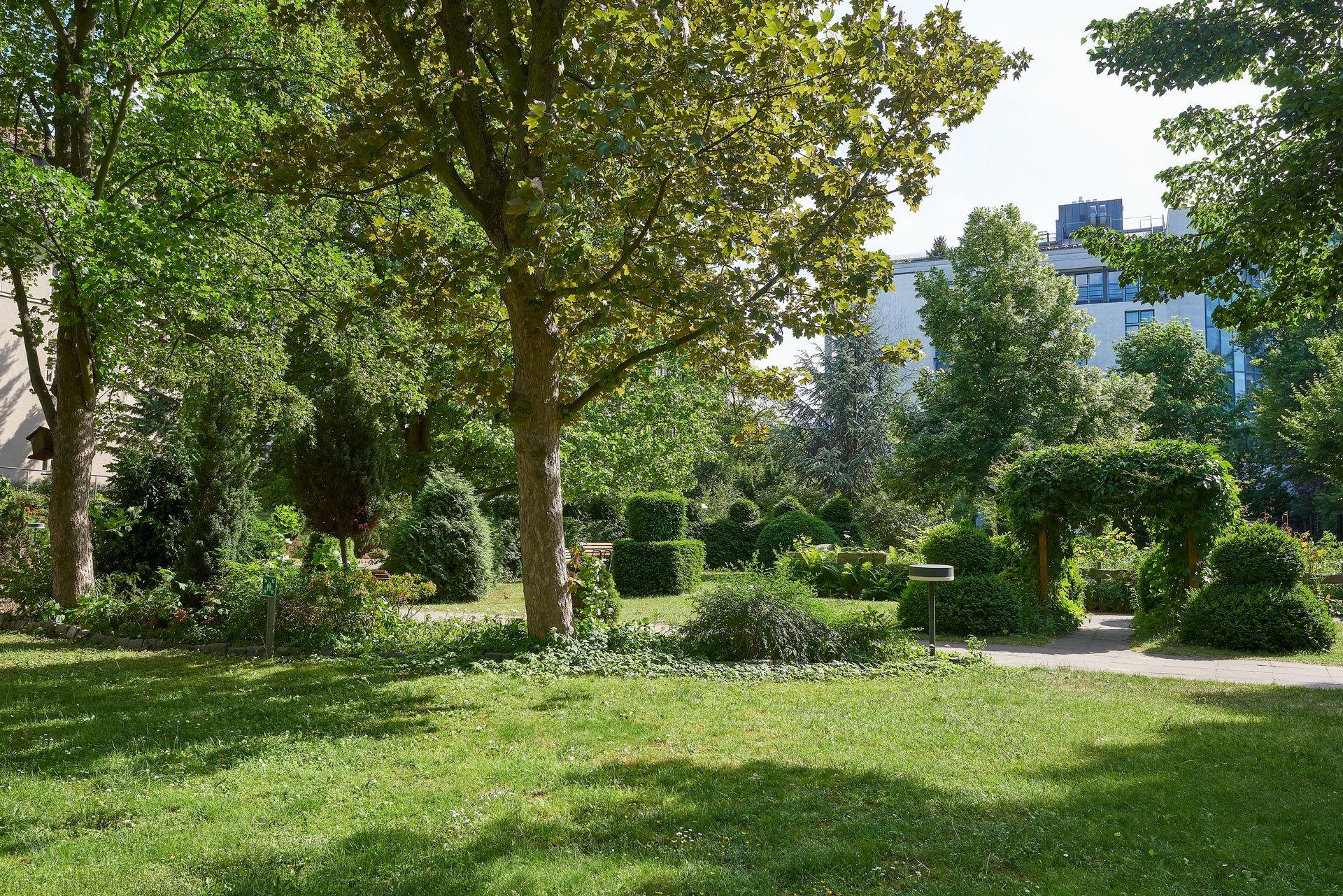 """Garten der Stiftung """"Lazarus-Diakonie Berlin"""""""